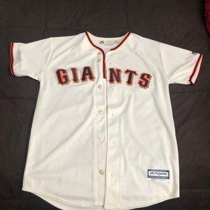 Genuine Merchandise Tops - Giants jersey